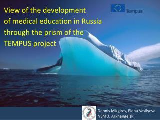 View of the development of medical education in Russia through the prism of the TEMPUS project