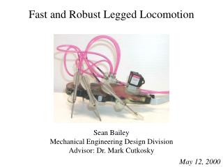 Fast and Robust Legged Locomotion