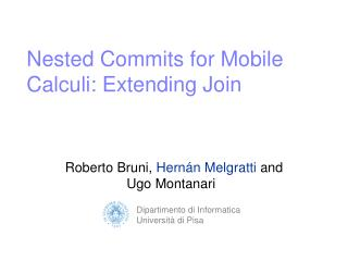 Nested Commits for Mobile Calculi: Extending Join