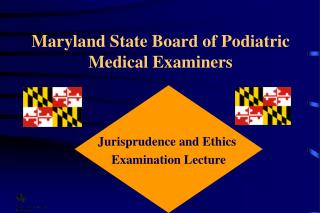 Maryland State Board of Podiatric Medical Examiners