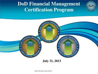 DoD Financial Management Certification Program