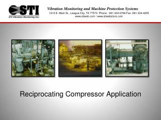 Reciprocating Compressor Application