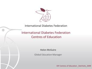 International Diabetes Federation  Centres of Education
