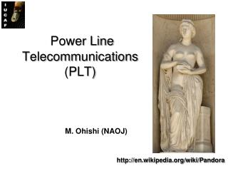 Power Line Telecommunications (PLT)