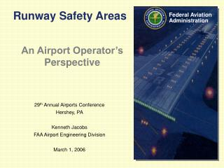 Runway Safety Areas