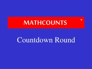 MATH COUNTS