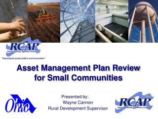 Asset Management Plan Review for Small Communities