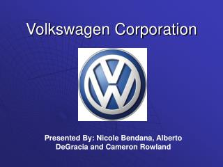 Volkswagen Corporation