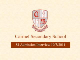 Carmel Secondary School