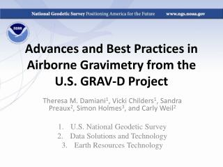 Advances and Best Practices in Airborne Gravimetry from the U.S. GRAV-D Project