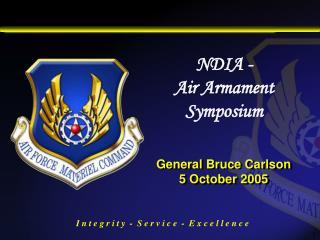 General Bruce Carlson  5 October 2005