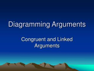 Diagramming Arguments