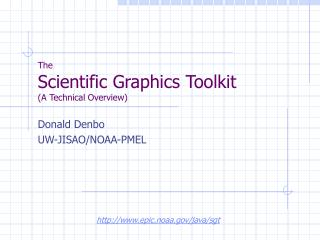 The Scientific Graphics Toolkit (A Technical Overview)