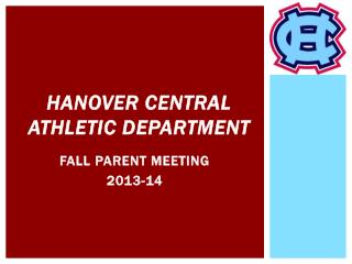 Hanover Central Athletic Department