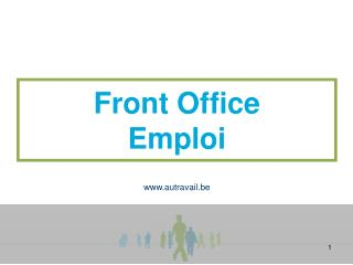 Front Office Emploi
