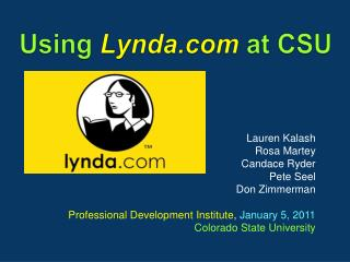 Using  Lynda.com at  CSU