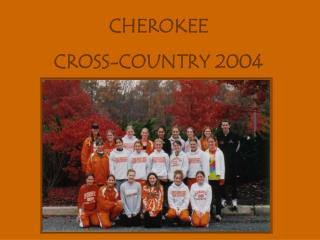CHEROKEE  CROSS-COUNTRY 2004