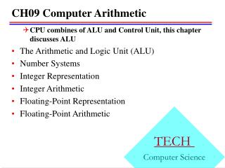 CH09 Computer Arithmetic