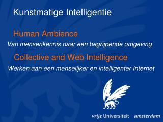 Collective and Web Intelligence