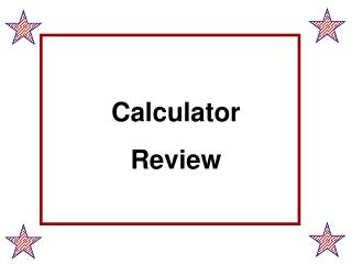 Calculator Review