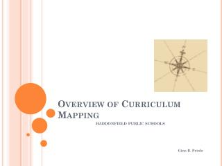 Overview of Curriculum Mapping