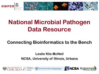 National Microbial Pathogen Data Resource