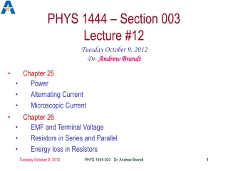 Chapter 11  Electrical Generators