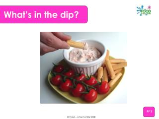 What's in the dip?