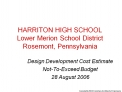 HARRITON HIGH SCHOOL Lower Merion School District Rosemont ...