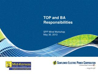 TOP and BA Responsibilities
