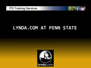 Lynda.com  at Penn State