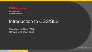 Introduction to CSS/SLS