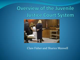 Overview of the Juvenile Justice Court System