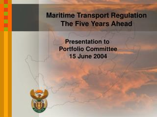 Maritime Transport Regulation The Five Years Ahead