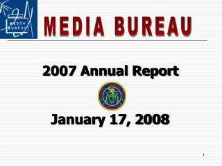 2007 Annual Report January 17, 2008