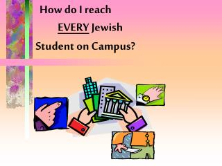 How do I reach  EVERY  Jewish  Student on Campus?