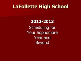 LaFollette High School