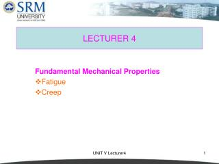 LECTURER 4