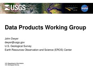 Data Products Working Group