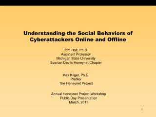 Understanding the Social Behaviors of Cyberattackers Online and Offline