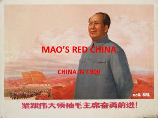MAO'S RED CHINA