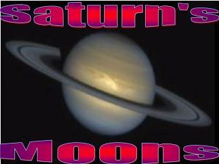 Saturn's