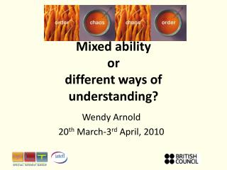 Mixed ability or different ways of understanding?