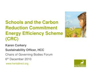 Schools and the Carbon Reduction Commitment Energy Efficiency Scheme (CRC)