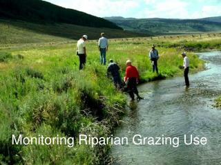 Monitoring Riparian Grazing Use