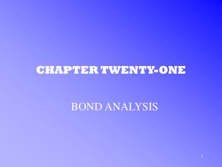 CHAPTER TWENTY-ONE