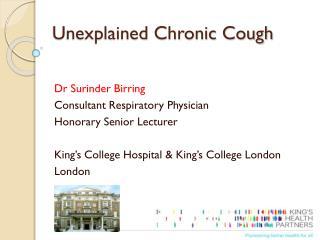 Unexplained Chronic Cough