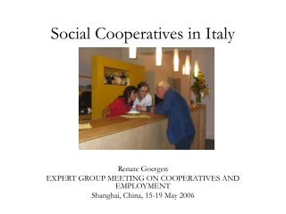 Social Cooperatives in Italy