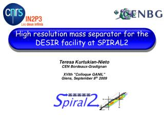 High resolution mass separator for the DESIR facility at SPIRAL2