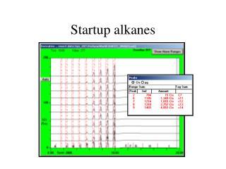 Startup alkanes
